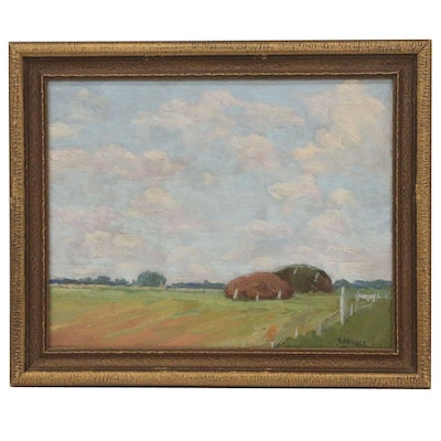 Robert F. Gilder Landscape Oil Painting