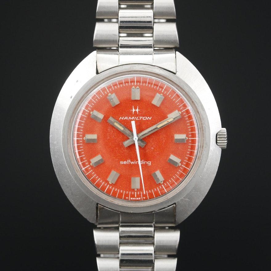 Hamilton Stainless Steel Automatic Wristwatch, Vintage