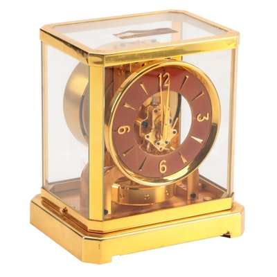LeCoultre Atmos Perpetual Motion Anniversary Clock, Mid to Late 20th Century