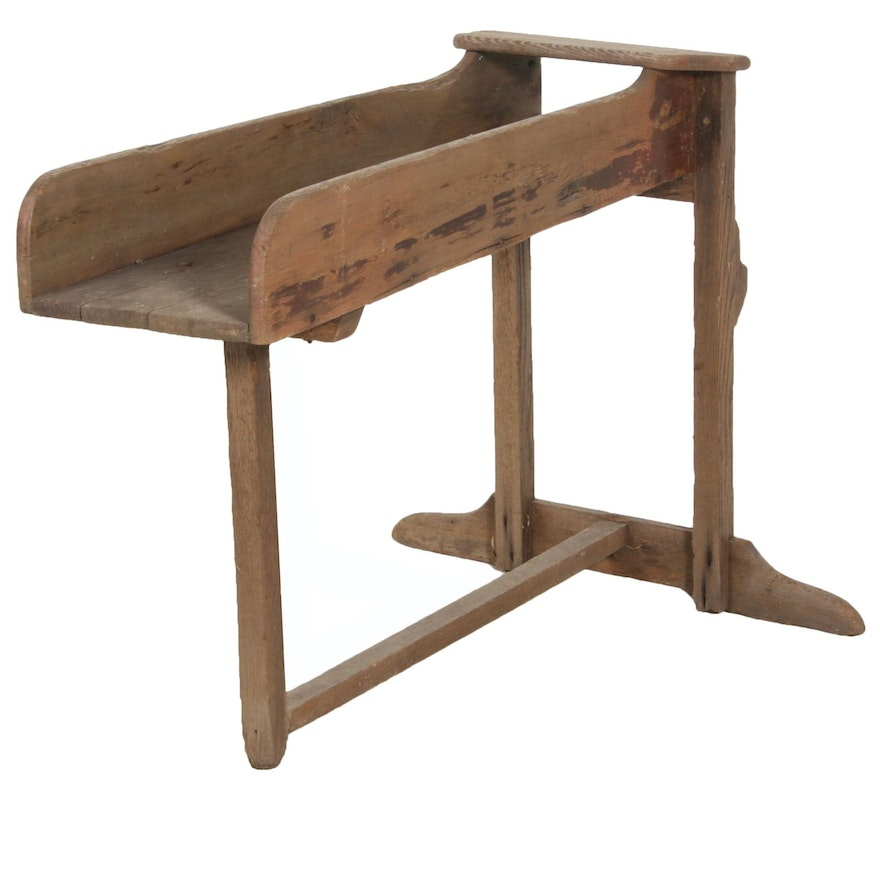 Wooden Seed Sorter, Early 20th Century