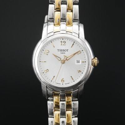 "Tissot ""Ring"" Two Tone Quartz Wristwatch"