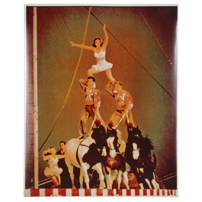 "Don Jim Solarized Cibachrome Photograph ""Vintage Circus"""