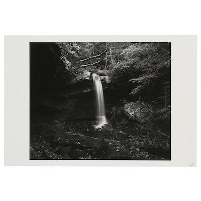 "William D. Wade Inkjet Print ""Buttermilk Falls, Beaver County"", 2004"