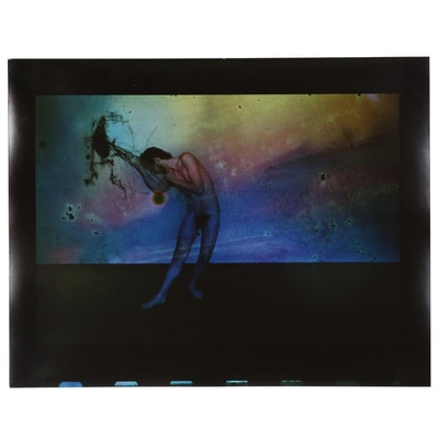 Barbara Hershey Surrealist Figural Cibachrome Photograph