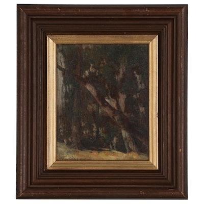 Thomas Jefferson Willison Landscape Oil Painting
