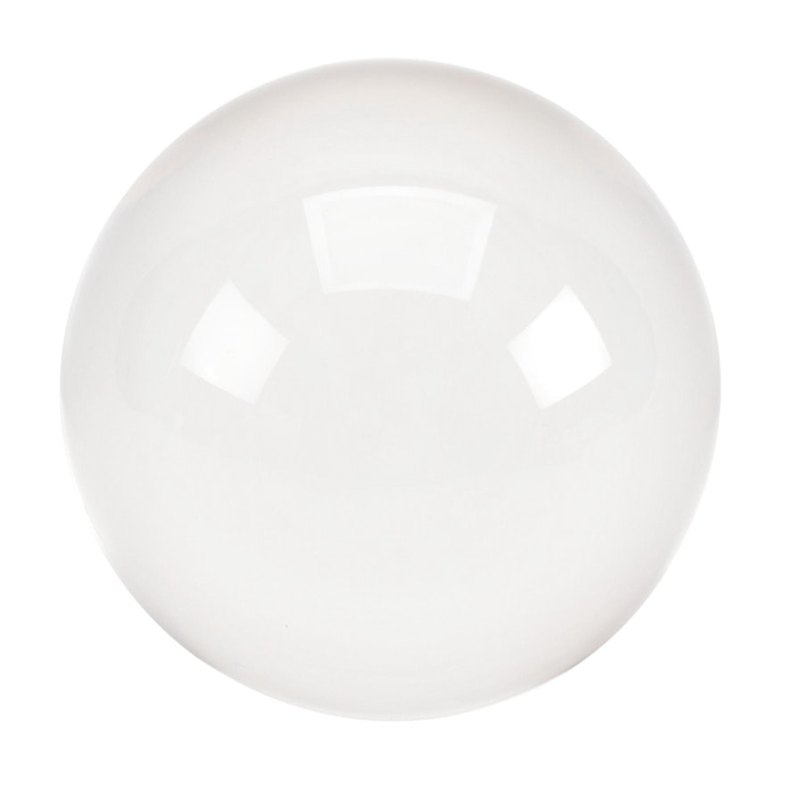 Polished Crystal Sphere