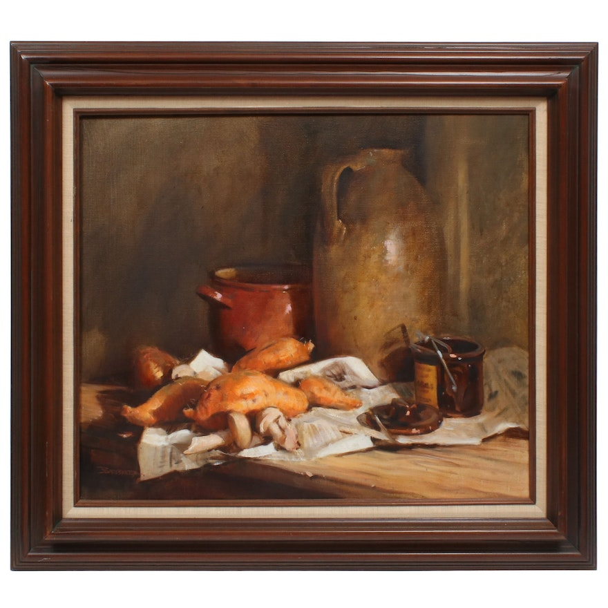 Robert Brubaker Still Life Oil Painting