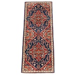 2'0 x 5'0 Hand-Knotted Aghani Persian Tabriz Rug, 2010s