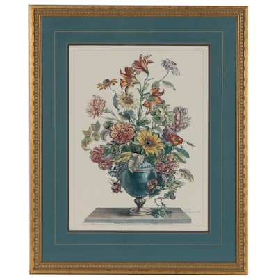 Offset Lithograph after Jean-Baptiste Monnoyer of Floral Still Life