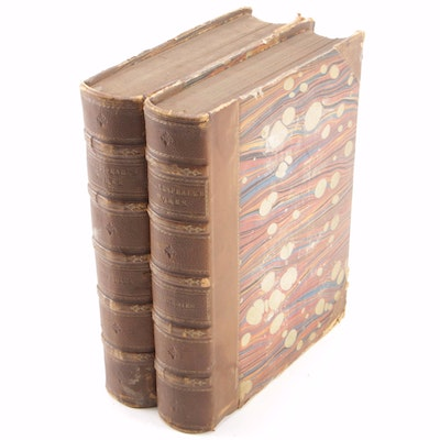 """The Complete Works of William Shakespeare"" Partial Set, circa 1856"