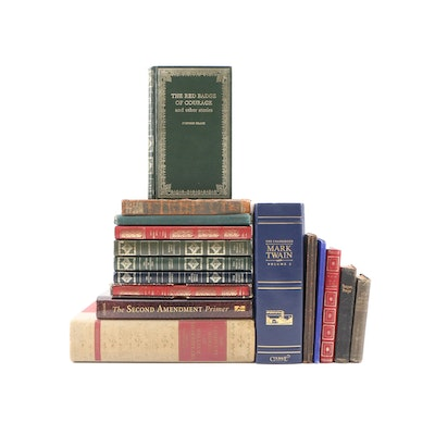 Classics by Various Authors Including Crane, Stevenson, Shakespeare with Others