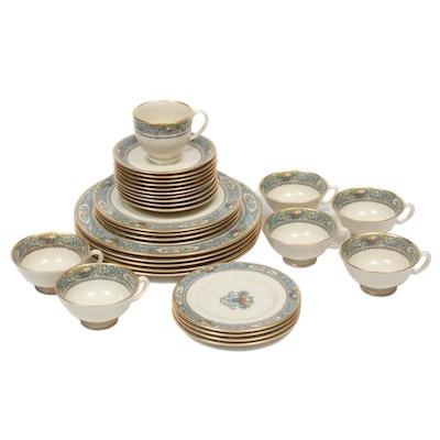 "Lenox ""Autumn"" Porcelain Dinnerware, Late 20th Century"