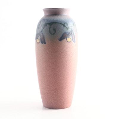 Charles Stewart Todd Rookwood Pottery Vellum Glaze Vase, 1920