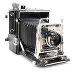 Graflex Inc. Crown Graphic Camera, Mid-20th Century