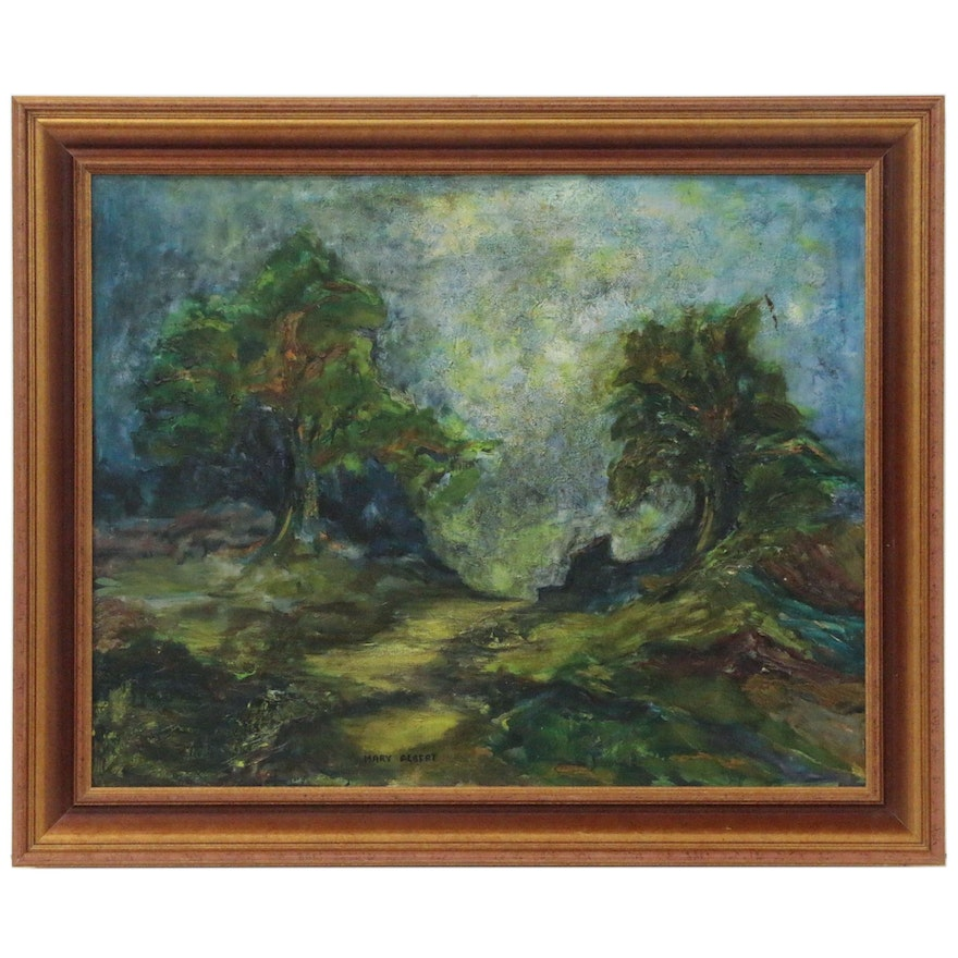 Mary Albert Landscape Oil Painting
