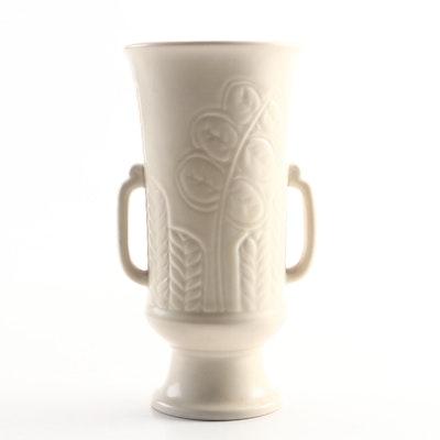 Ruben Earl Menzel Rookwood Pottery Cream Matte Glaze Vase, 1937