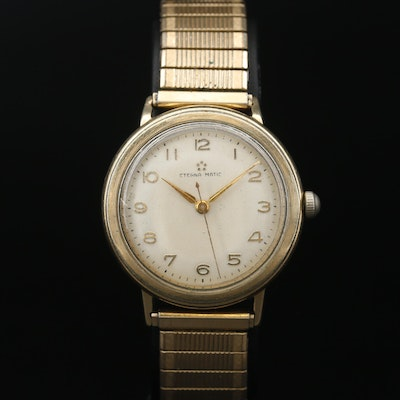 Eterna 14K Gold Filled Automatic Wristwatch, Vintage