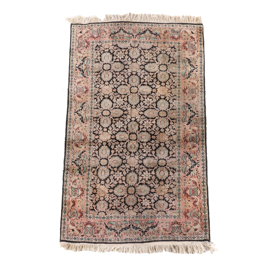 3'0 x 5'6 Hand-Knotted Persian Veramin Wool Rug
