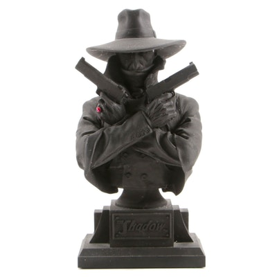 "Graphitti Designs Limited Edition ""The Shadow"" Hand-Painted Bust, 1994"