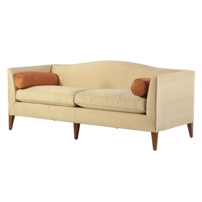 Baker Furniture Two-Cushion Upholstered Sofa