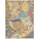 Raffaele D'Onofrio Abstract Mixed Media Painting of Figure and Pattern