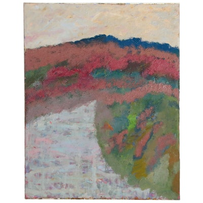 Jerald Mironov Monumental Abstract Oil Painting