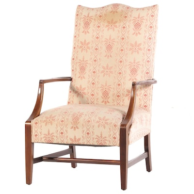 Federal Style Mahogany Lolling Chair, Mid to Late 20th Century