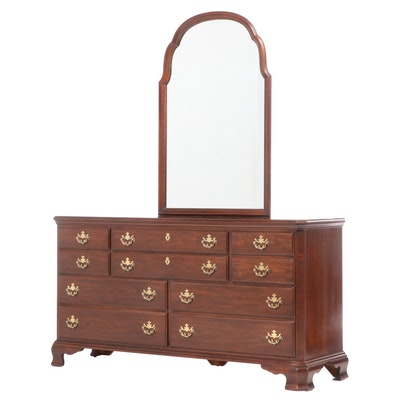 Drexel Heritage Chippendale Style Cherrywood Dresser