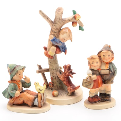 "Goebel ""Culprits"" and Other Porcelain Hummel Figurines"