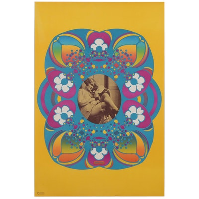 "Lithograph after Peter Max ""Flapper"""
