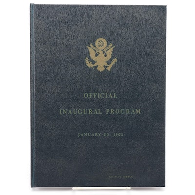 """Official Inaugural Program"" Kennedy-Johnson 1961"