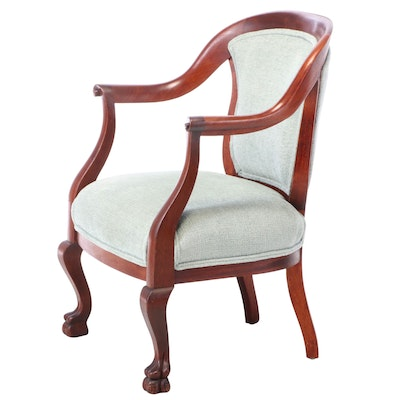 Colonial Revival Mahogany Arm Chair, Early 20th Century