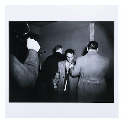"""Weegee Estate Stamped Photograph """"Anthony Esposito"""", 2020"""
