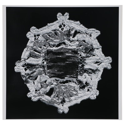 Karen Savage Photogram of Lace