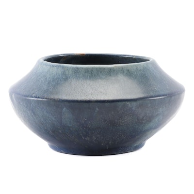 Van Briggle Pottery Blue Planter