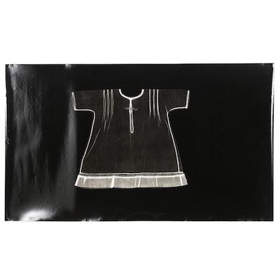 Karen Savage Life-Size Photogram of a Dress