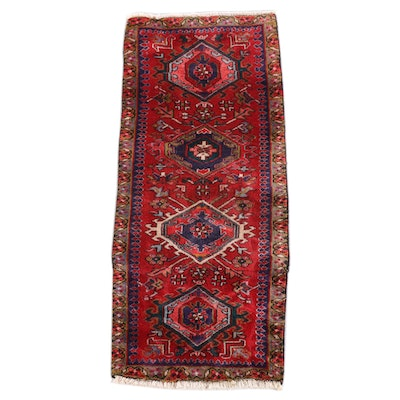 2'1 x 4'9 Hand-Knotted Persian Josheghan Wool Rug