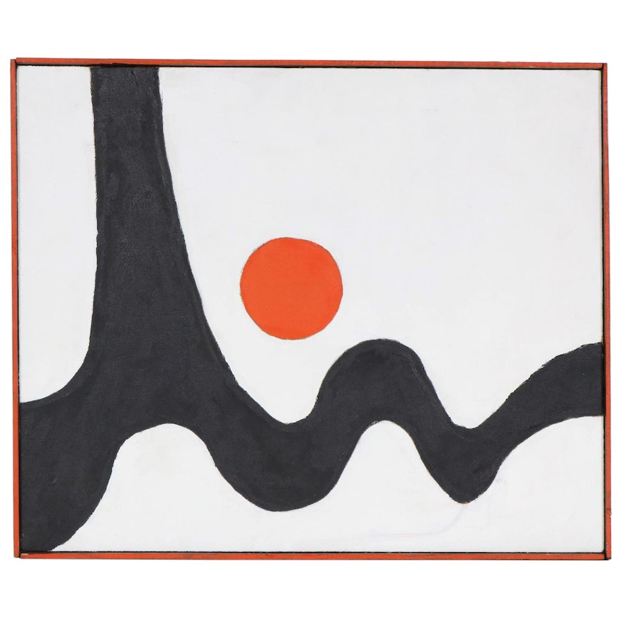 Abstract Oil Painting, 1973