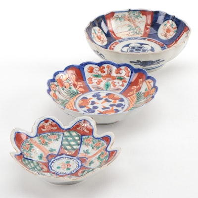 East Asian Decorative Ceramic Bowls