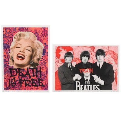Death NYC Pop Art Graphic Prints, 2020