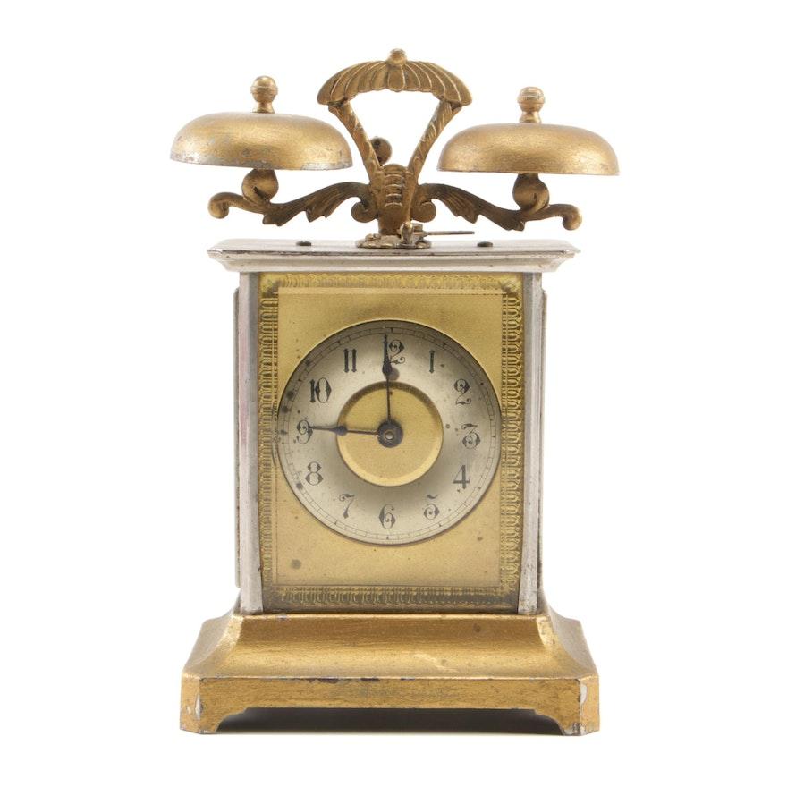 Clock movement american hamburg Antique German