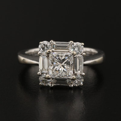 14K 1.96 CTW Diamond Ring