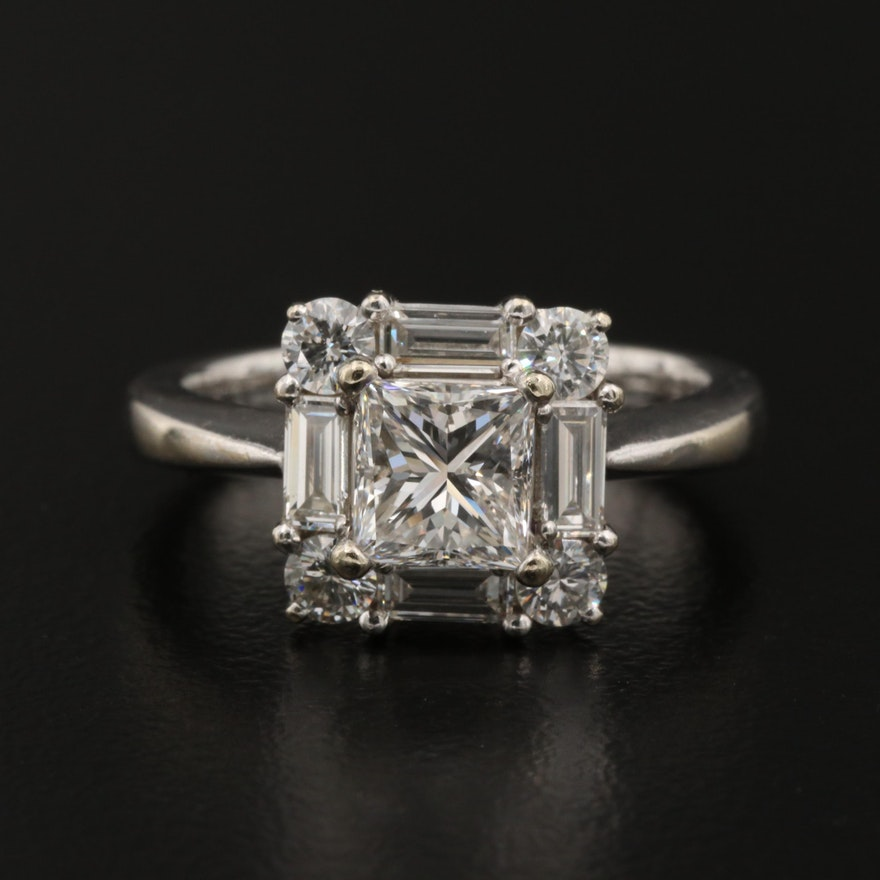 14K 1.96 CTW Diamond Ring