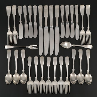 "International ""1810"" Sterling Silver Flatware, Mid to Late 20th Century"