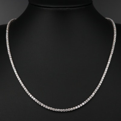 14K 6.97 CTW Diamond Necklace