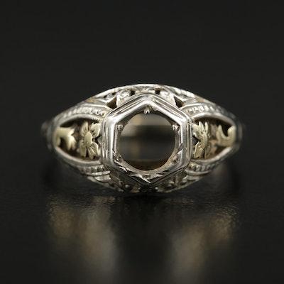 18K Scrap Ring