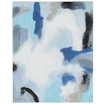 Lee Hafer Abstract Acrylic Painting