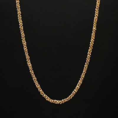 Sterling Sparkle Link Chain