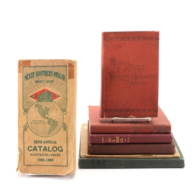 Druggists Catalogs Including Weeks & Potter, Late 19th/ Early 20th Century