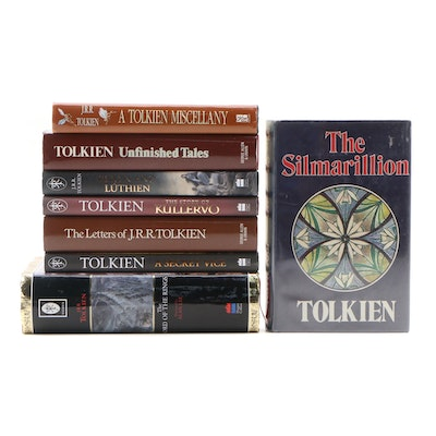 "First Edition J. R. R. Tolkien Works Featuring ""The Silmarillion"" With Others"